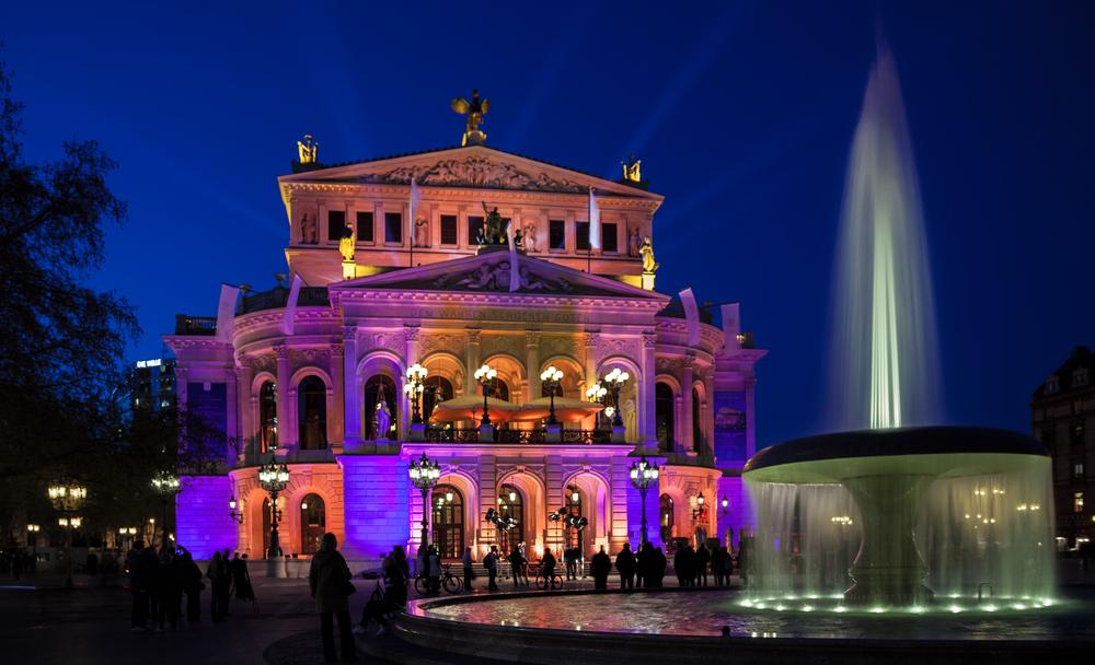 Alte Oper während Luminale 2012
