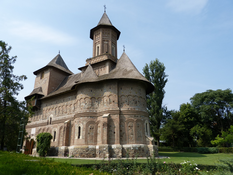Alte ortodoxe Kirche aus Galati an der Donau