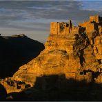 alte Osmanen-Festung im Berg-Jemen