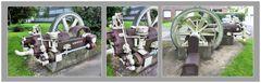 Alte Pumpe als Industriedenkmal