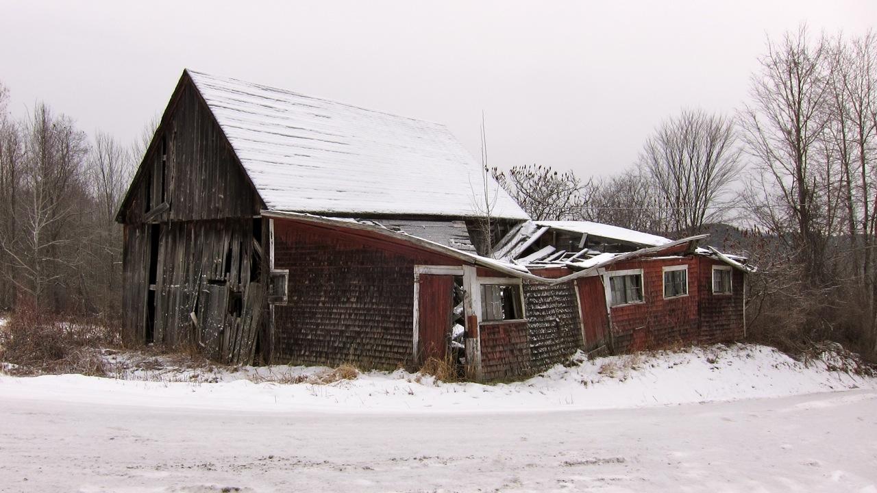 Alte Scheune in Vermont, USA