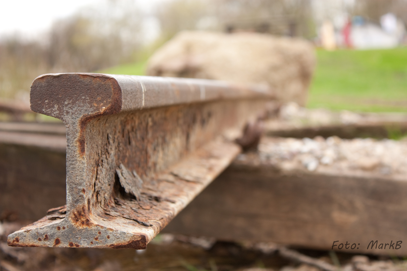 Alte Schiene