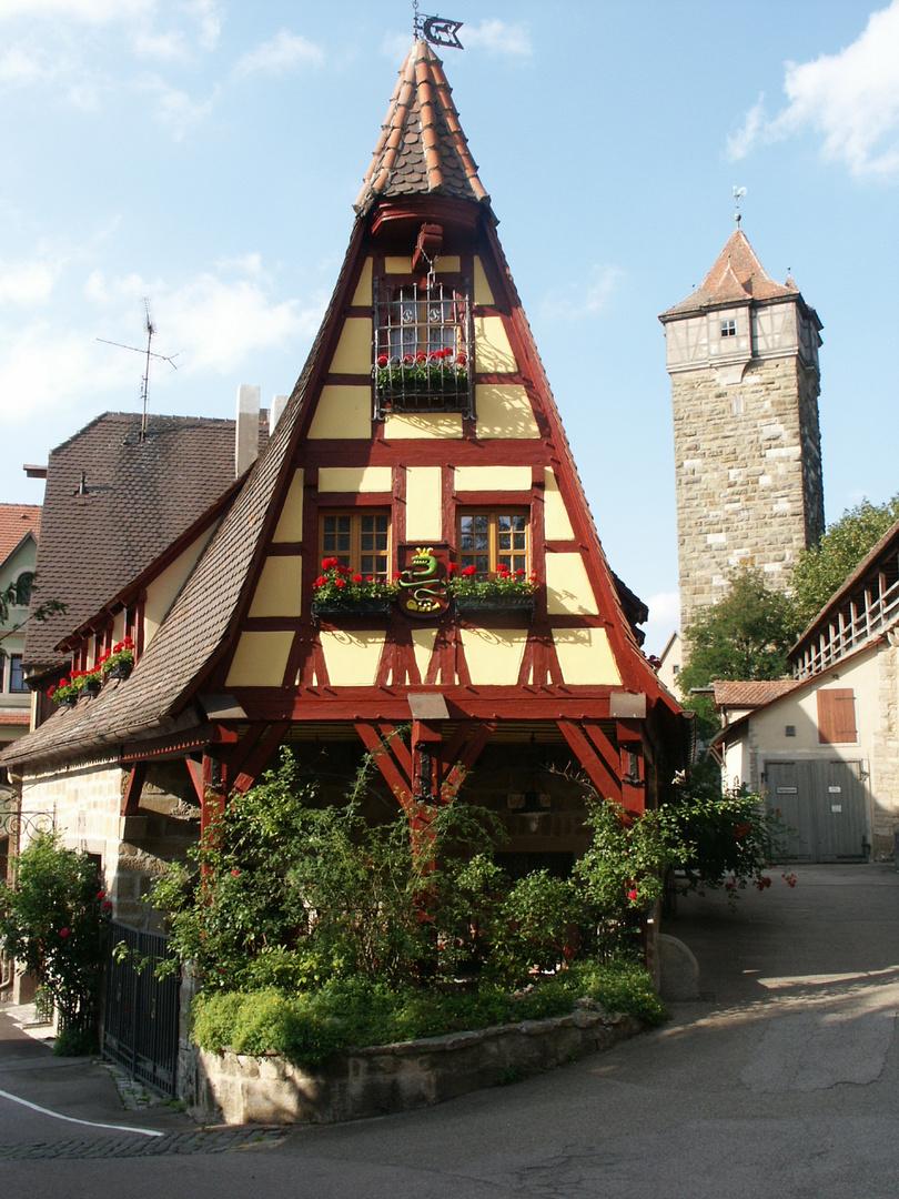 Alte Schmiede , Rothenburg ob der TAuber