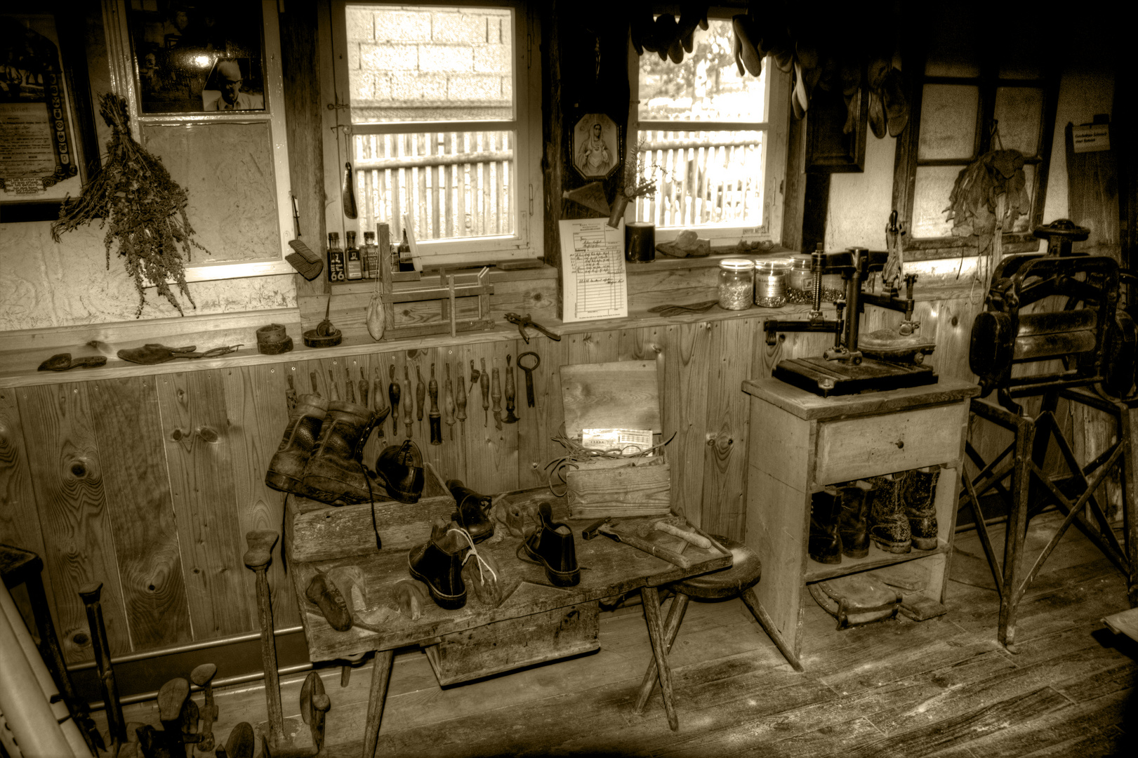 Alte Schuhmacherwerkstatt