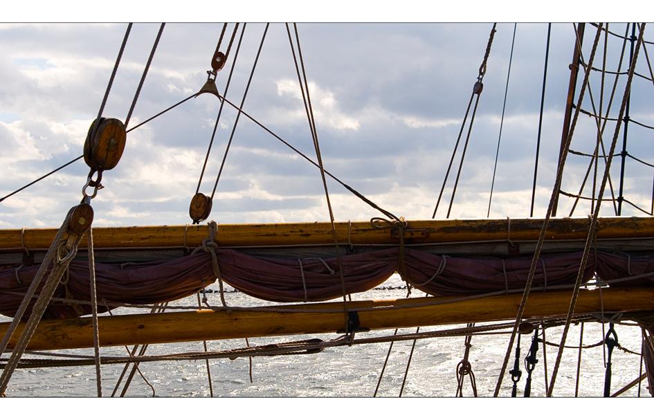 Alte Segelboote