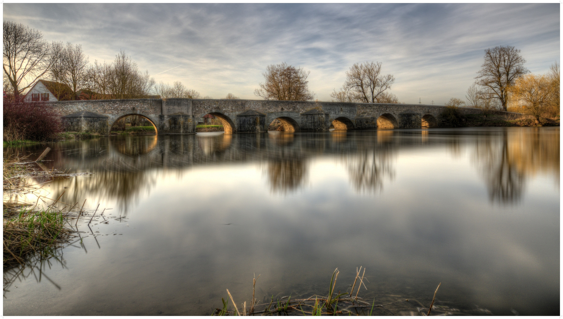 Alte steinerne Brücke Ebermergen
