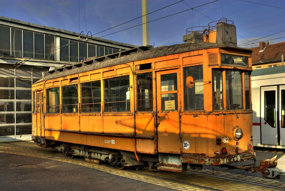 alte Straßenbahn in Braunschweig Foto & Bild | bus ...