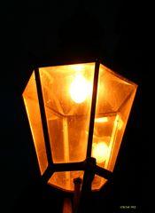 alte Straßenbeleuchtung