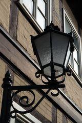 alte Strassenbeleuchtung in Salzwedel