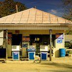 Alte Tanke in Garden City, Louisiana