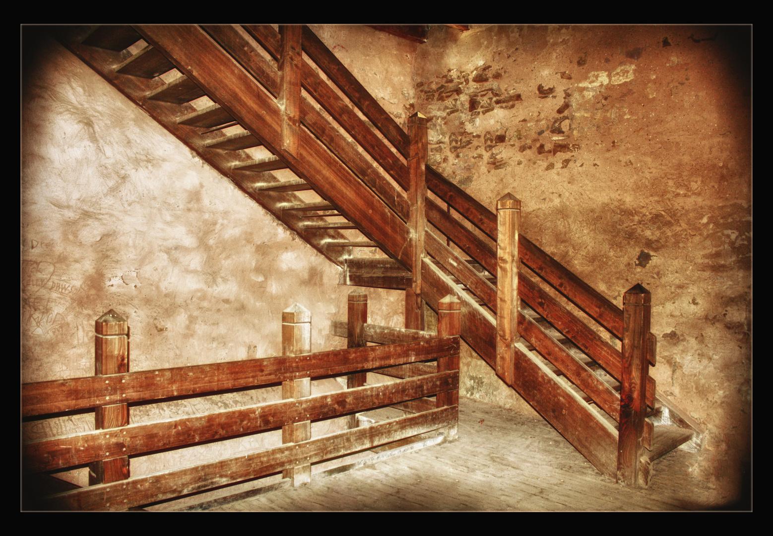 Alte Treppen