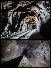 alte Tunnel auf Teneriffa...