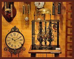 Alte Uhrenkunst