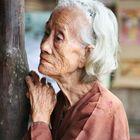 Alte Vietnamesin