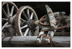 alte Wagenteile