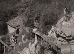 Alte Wassermühle in Kotli