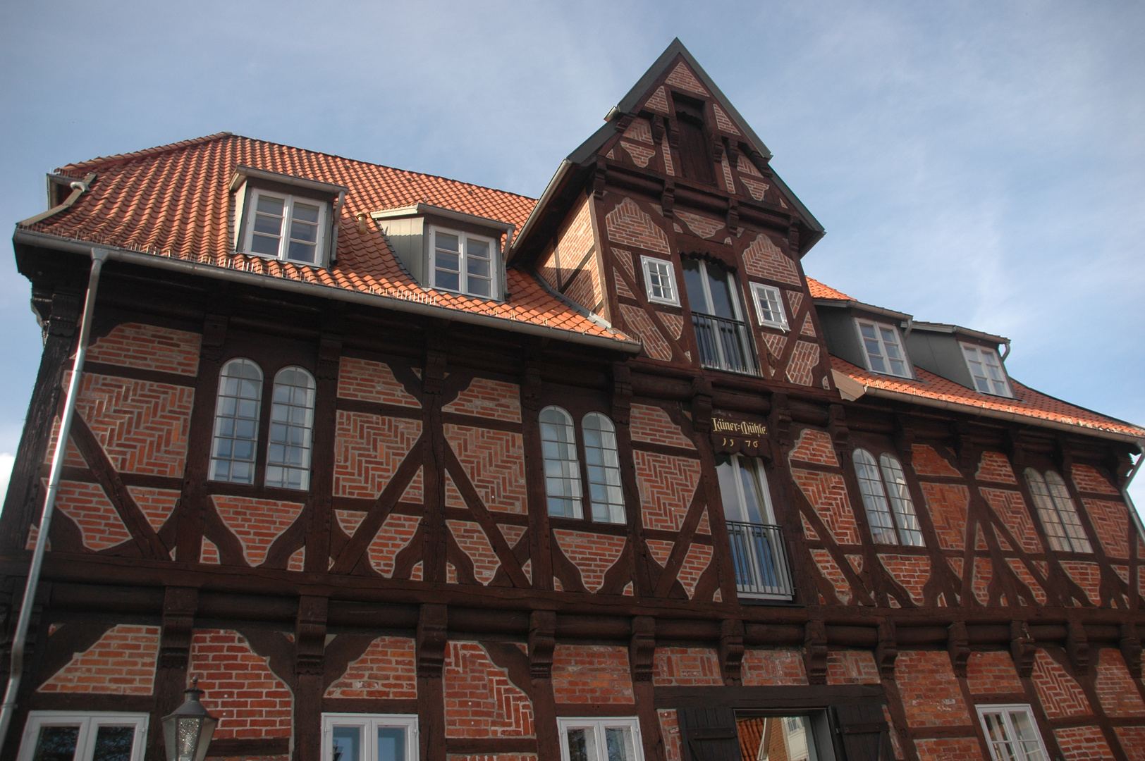 Alte Wassermühle in Lüneburg