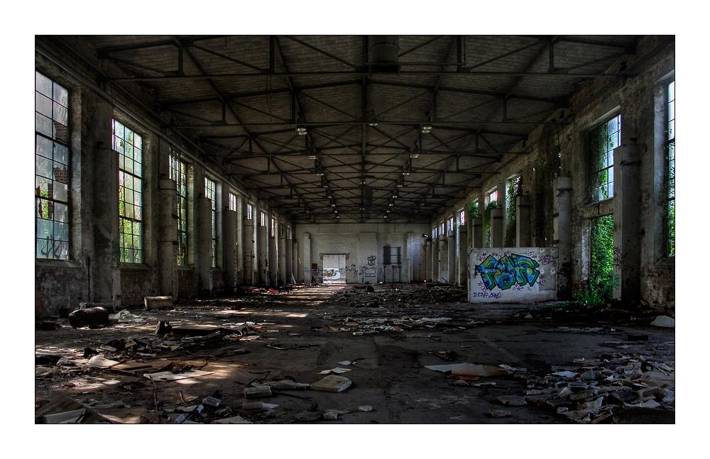 Alte Werkhalle