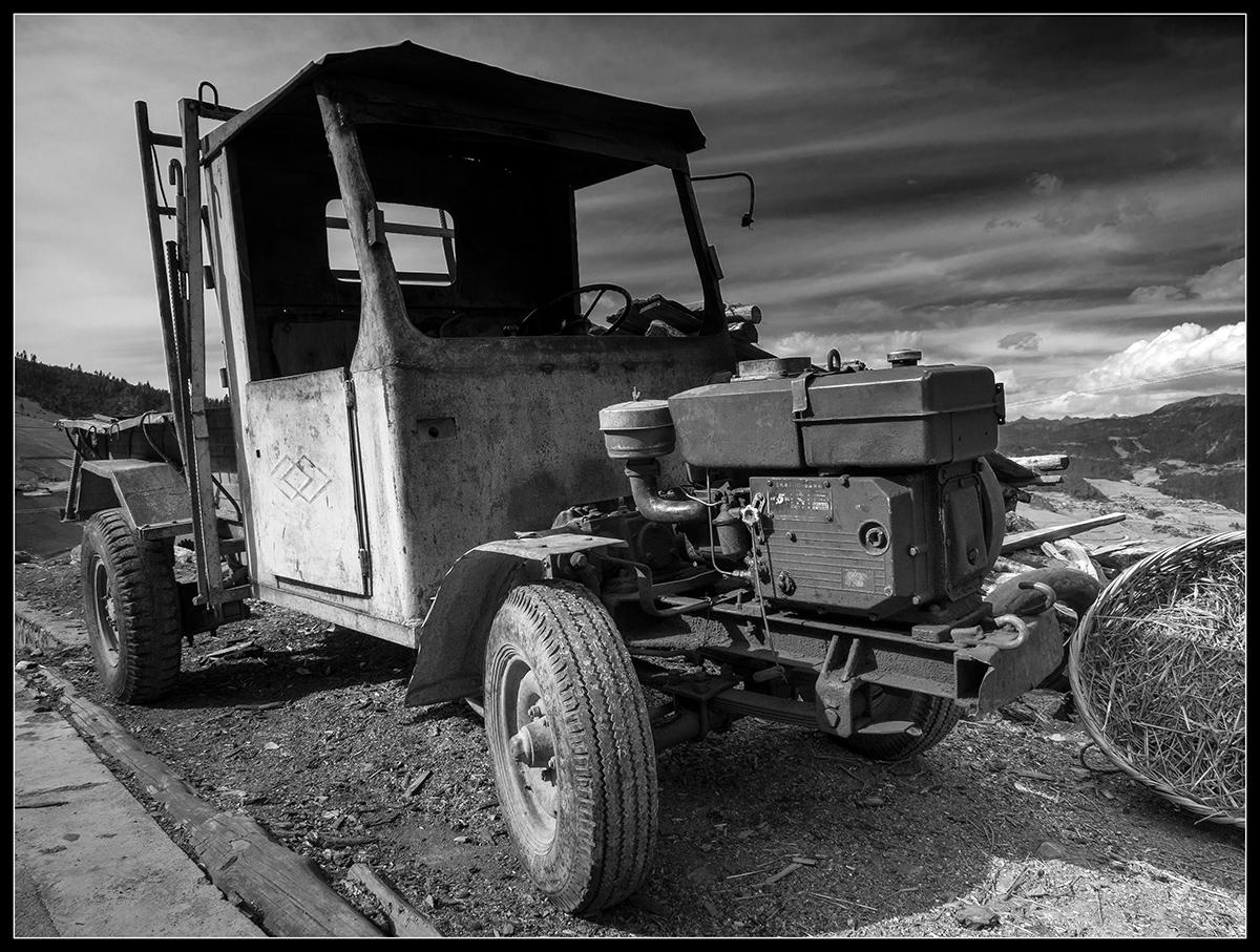 Alte Zugmaschine