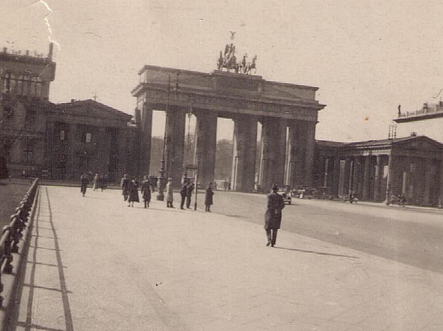 alteKontaktabzüge 5 Brandenburger Tor