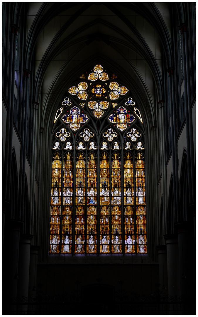 Altenberber Dom - Westfenster