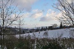 Altenberg der bekannte Ort auf dem Osterzgebirgskamm mit Blick nach Böhmen