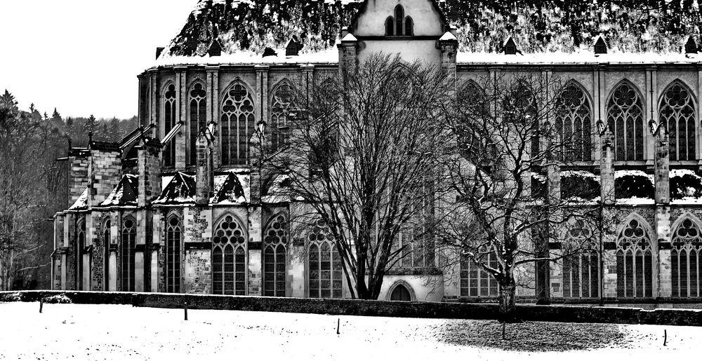 Altenberger Dom im Winter