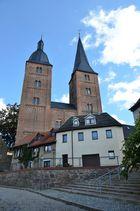 Altenburg / Thür., Die Roten Spitzen sind ein bedeutendes Bauwerk