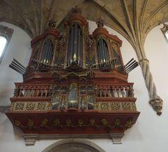 AlteOrgel in Kathedrale von Coimbra
