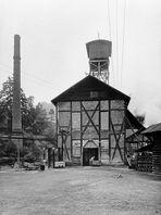 Alter 304m tiefer Schacht der Grube Stahlberg in Müsen (Repro/Reload)