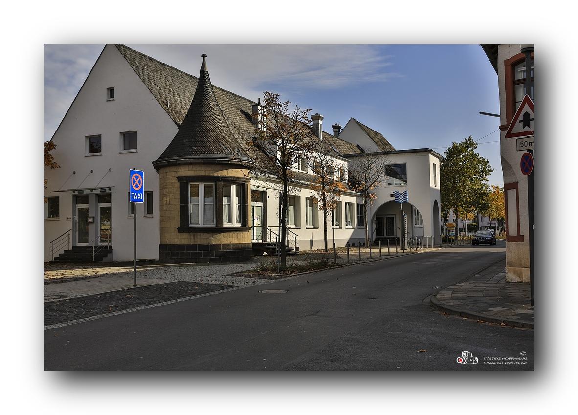 alter Bahnhof in Wittlich