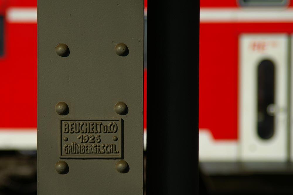 Alter Bahnhof - Neue Bahn