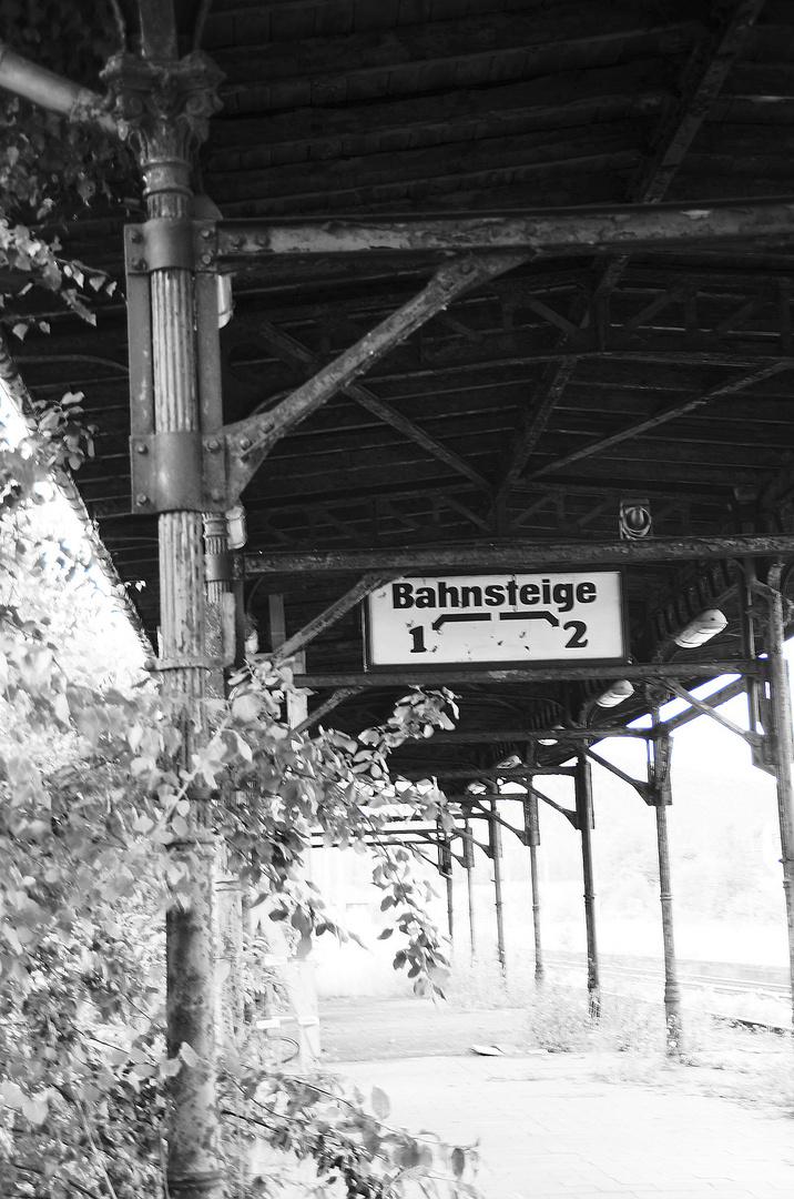 Alter Bahnsteig