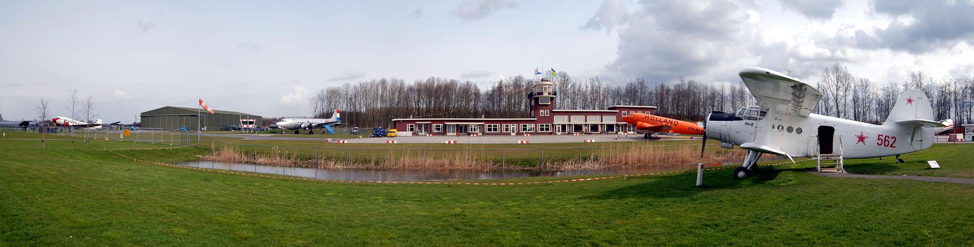 Alter Flughafen Schiphol