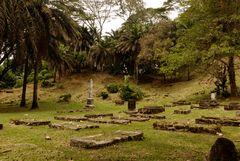 Alter Friedhof auf Mahé Nähe Victoria
