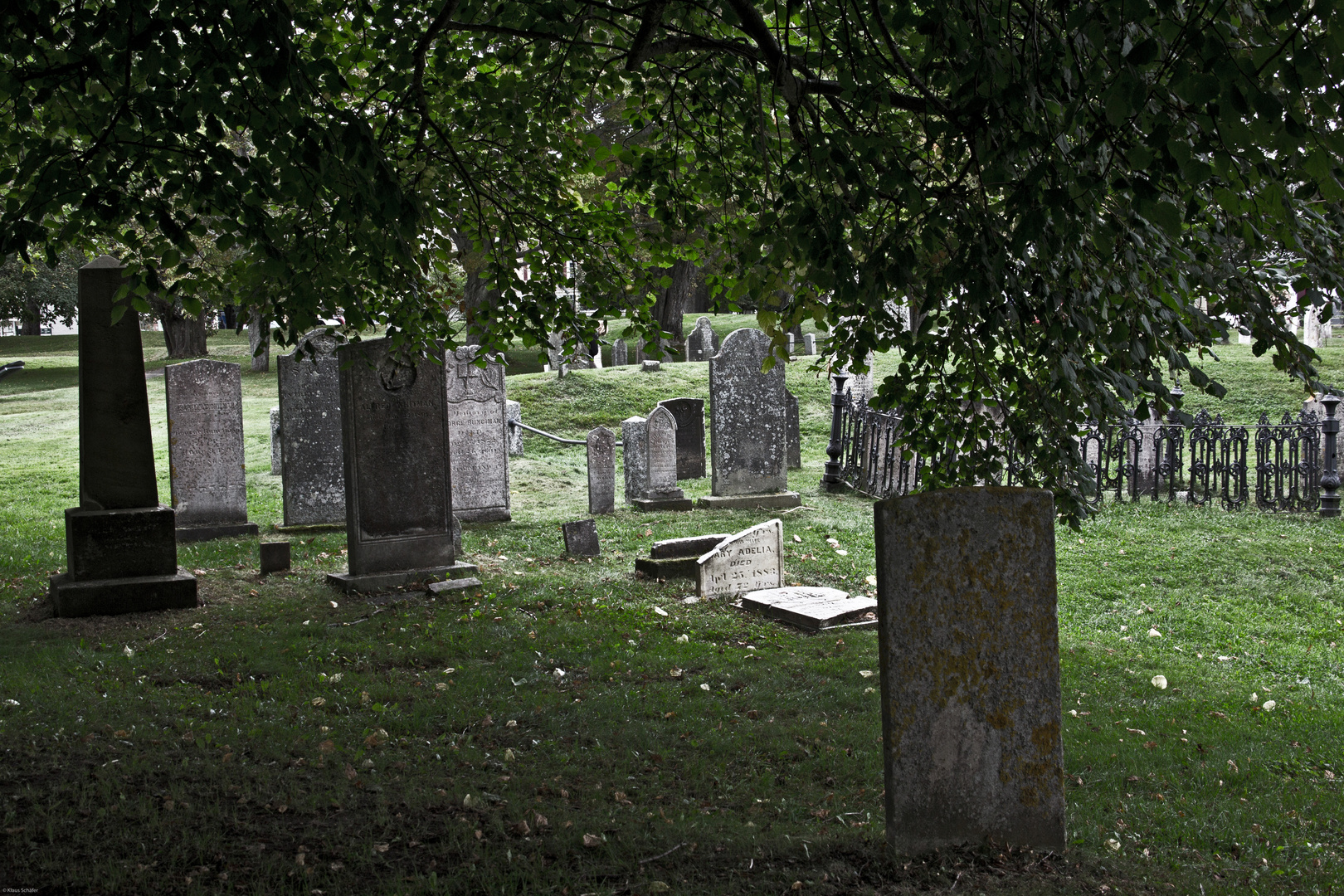Alter Friedhof in Annapolis Royal