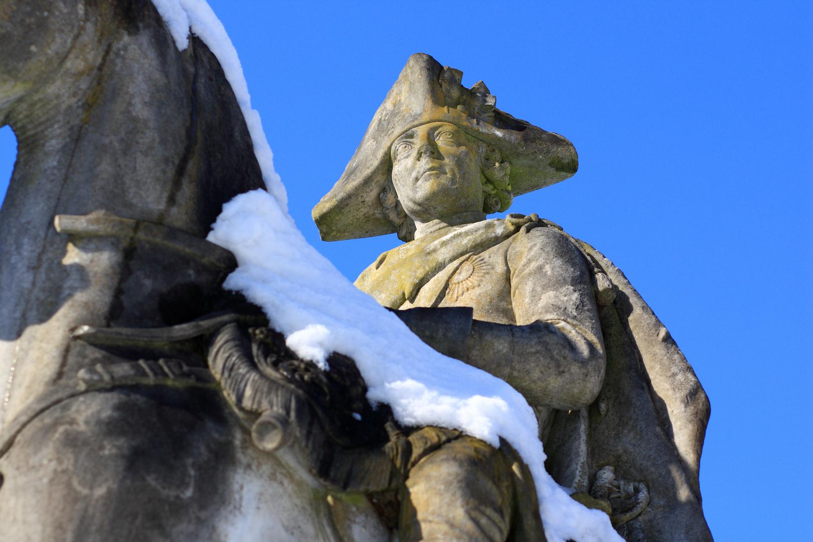 """""""Alter Fritz"""" und junger Schnee..."""