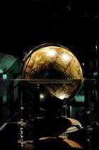 Alter Globus in der Ausstellung Sternenhimmel