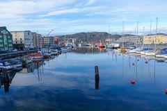 Alter Hafen in Trondheim