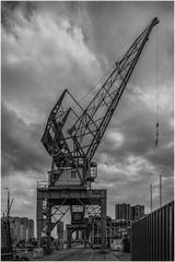 alter Hafenkran Rotterdam