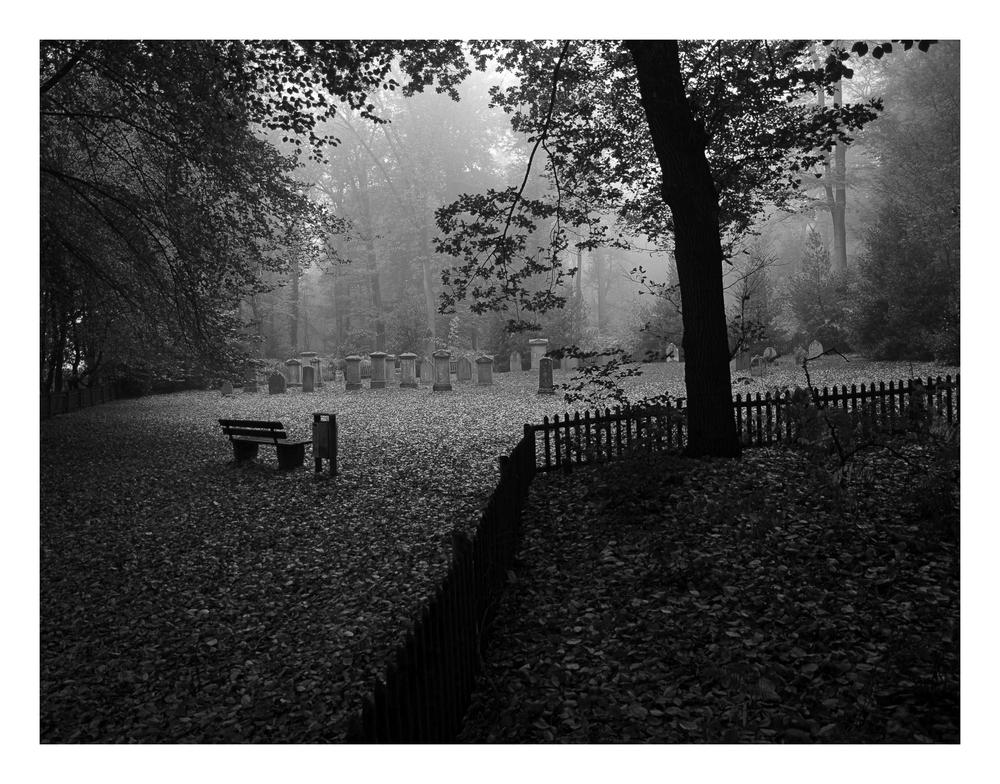 Alter jüdischer Friedhof...