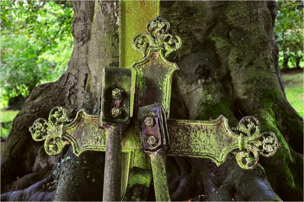 Alter Kirchhof von St. Bartholomäus zu Dornum/Ostfriesland