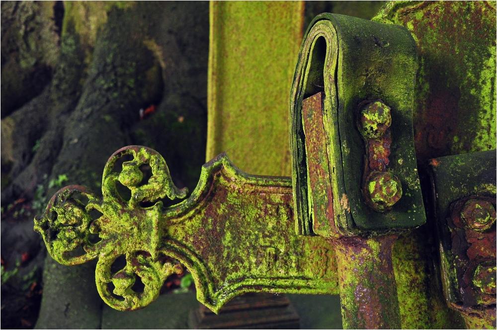 Alter Kirchhof von St. Bartholomäus zu Dornum/Ostfriesland (Detail)