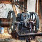 Alter Lanz Motor für den Riemenantrieb