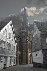 alter Markt in Mettmann