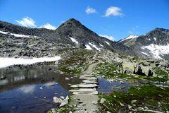 Alter Saumpfad über den Alpenhauptkamm