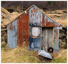 Alter Schuppen auf Island