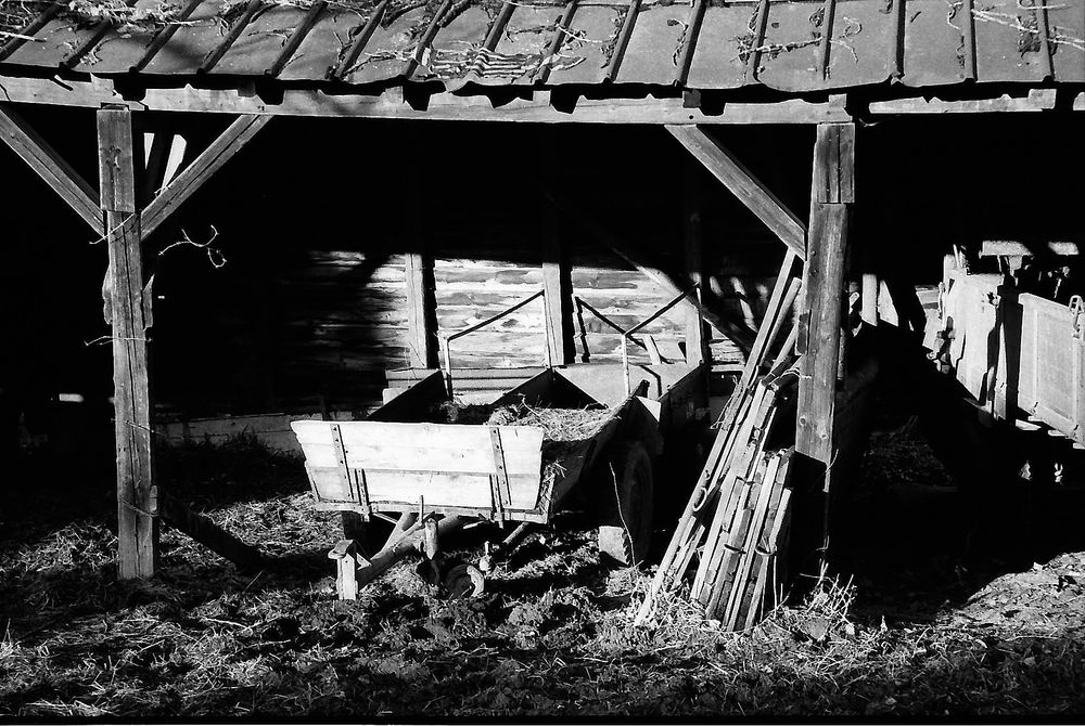 alter  Schuppen im Sauerland