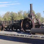 Alter Traktor von 1894 im Tal des Todes