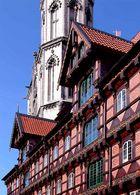 Alter Zeughof und Bartholomäuskirche Braunschweig